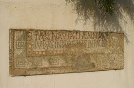 Mosaic from the necropolis of Pupput
