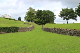 Carmarthen amphitheatre east entrance