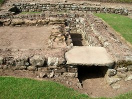 Caerleon barracks latrine drains