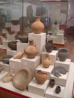 Caerleon museum - ceramics