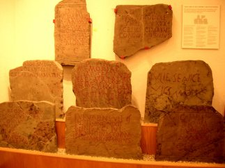 Caerleon museum - inscriptions
