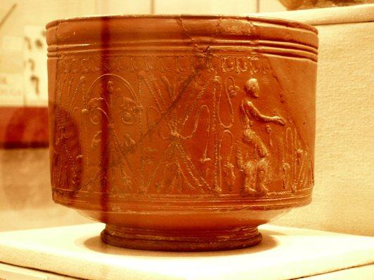 Caerleon museum - Samian ware