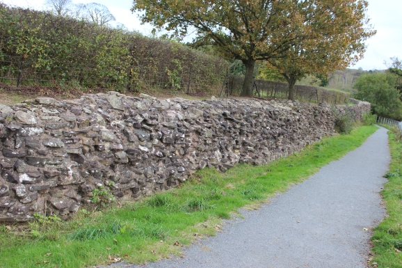 Caerleon west rampart