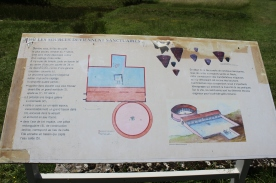 Site plan of Fontaines Sallees