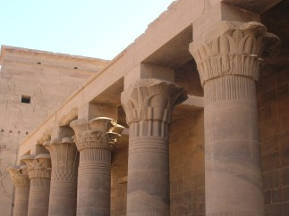 The Augustan east colonnade of Philae