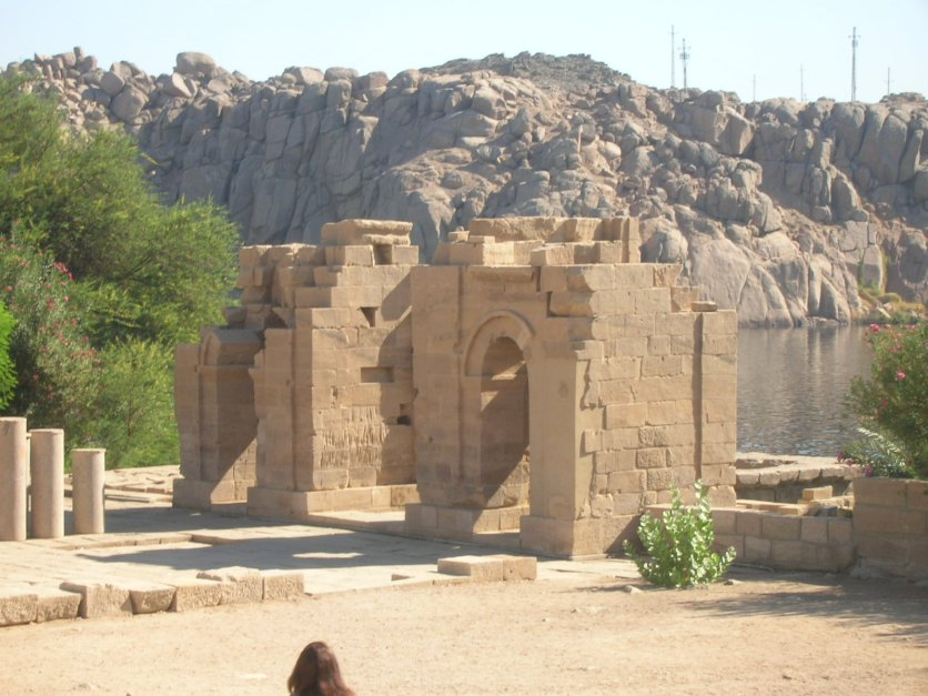 Arch of Diocletian at Philae