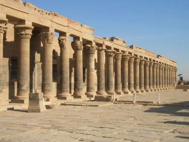 Augustan colonnade at Philae
