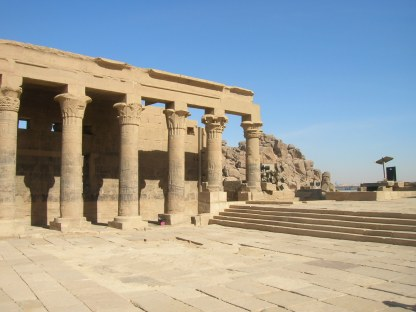 The Augustan colonnade at Philae
