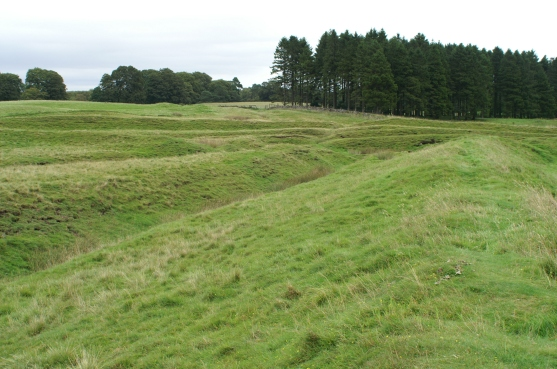 Ardoch northern ditches