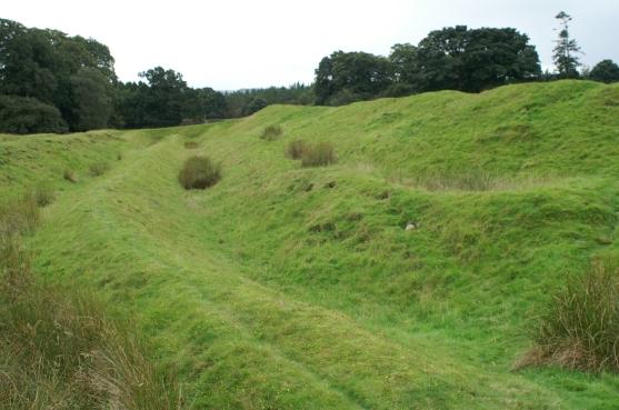 Ardoch northwest corner