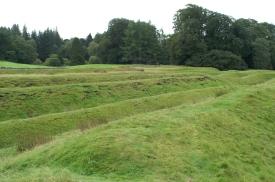 Ardoch west ditches