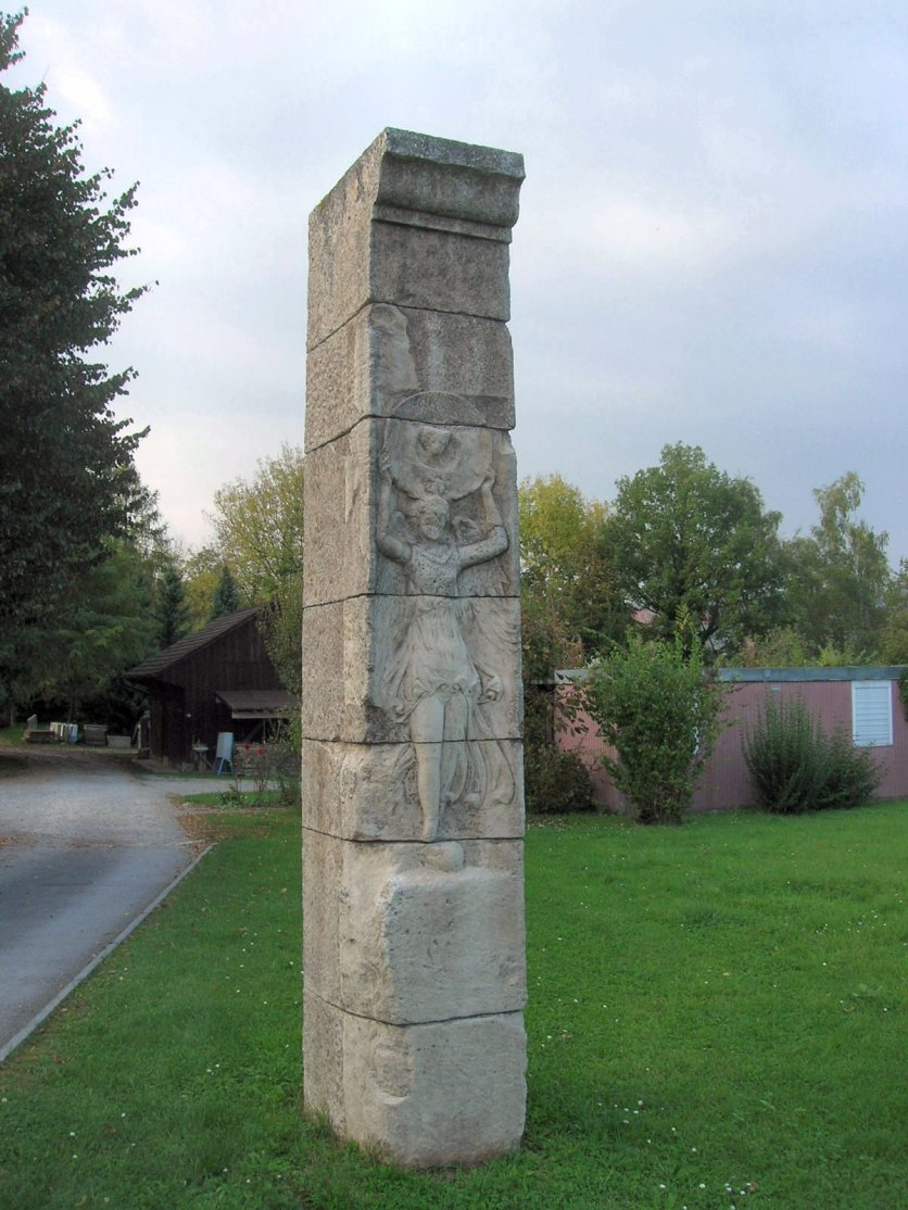 Augst forum Victory carving