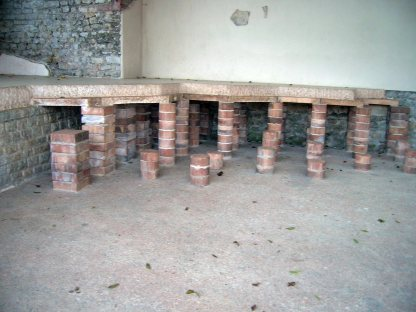 Augst hypocaust house