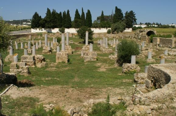 Carthage basilica of Damous El Karita