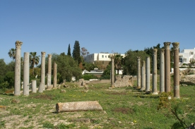 Carthage baths of Gargilius