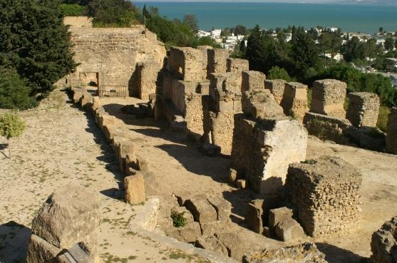 Carthage Byrsa ruins