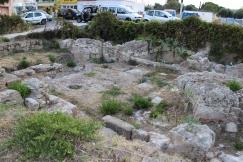 Hersonissos Dimokratias street ruins