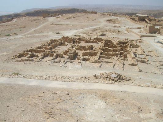 Masada commander's quarters