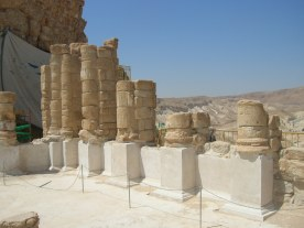 Masada northern palace lower terrace