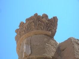 Masada northern palace lower terrace column