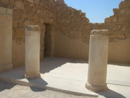 Masada officer's house