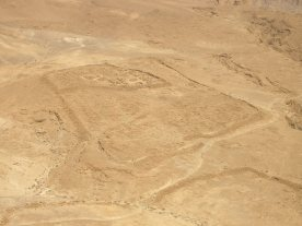 Masada Roman camp
