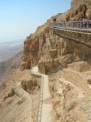 Masada 'Snake path'