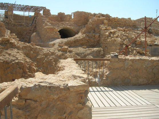 Masada 'Water gate'