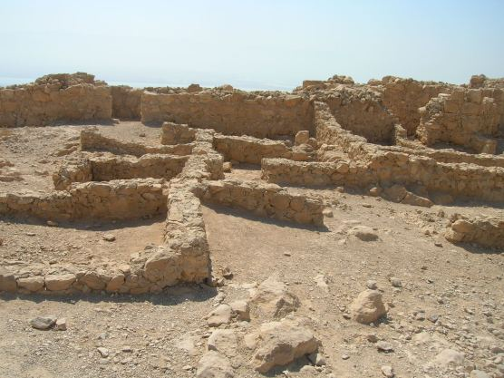 Masada zealot houses in east wall