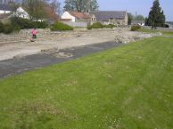 Piercebridge wall and 'lilia' pits