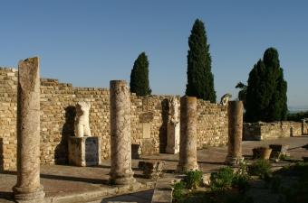 Carthage house courtyard